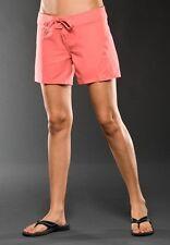 Oakley Women's Movement Boardshort Beachwear Black Pink Viridian Size 0 1/2 3/4