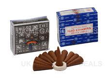 Genuine Satya Sai BABA Nag Champa Super Hit Incense Cone Dhoop 3 X 12 CONES