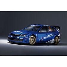Affiche poster voiture Subaru WRC rallyeSubaru WRC