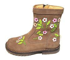 Zecchino d'Oro Kinderschuhe Mädchen Lederstiefel Stiefel Leder A06-4621 28