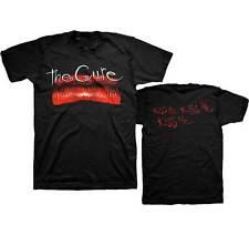 The Cure Kiss Me Album Lips Gothic Alternative Rock Punk Music Band Mens T Shirt