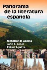 Panorama de La Literatura Espaqola (Hispanic Monographs) (Spanish Edition) by A