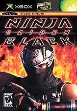 Ninja Gaiden Black (Microsoft Xbox, 2005) BRAND NEW, FACTORY SEALED, RARE!