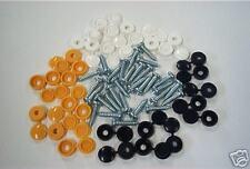 30 Pack Mixte plaque immatriculation VIS & Bouchons