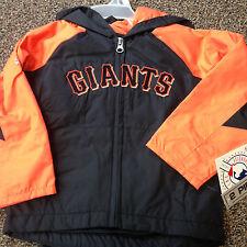 SF San Francisco Giants Windbreaker / Rain Gear Toddlers 2 Pc Outerwear NWT