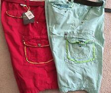 Mountain Haze Men's Cargo Shorts Slim Straight stitch w/belt size 44 & 50