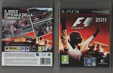 FORMULA 1 2011 - GIOCO PS3  - SPORT - OFFERTA! SIGILLATO! ITALIANO!!