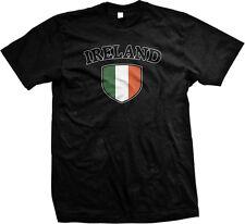 Ireland Flag Crest Irish Eire Airlann National Country Pride Mens T-shirt