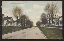 Postcard Mercer,Pennsylvania/PA   East Market Street Houses/Homes view 1907?