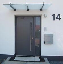 Hausnummer Anthrazit RAL 7016  Zahl 25 oder 30 cm hoch 0 - 9   a b c d e f g h