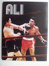 Rare 1976 Ali by Hal Lundgren book Muhammed Ali Boxing photobiography