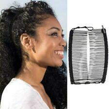 Vintage Banana Hair Clip Double Comb Hair Accessory Stretchable Banana Comb