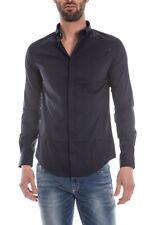 Camicia Armani Jeans Shirt -30% Uomo Blu C6C13NL-5G SALDI