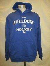 Hamilton Bulldogs M L XL Reebok Blue Hooded Sweatshirt Canadiens AHL A15M