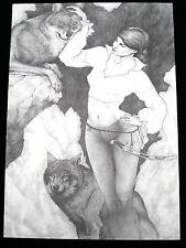 Affiche PENET   Marie des loups 444ex signé 50x70