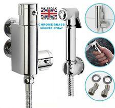 Douche Kit Bidet Toilet Thermostatic Valve With Brass Chrome Shower Muslim Spray