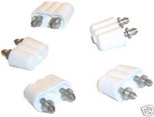 5 Stecker für Puppenhausbeleuchtung Kahlert 60700 weiß