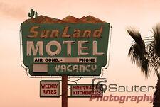 Vintage Sunland Motel: Tucson, Arizona Original Fine Art Photo!