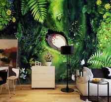 3D Blue Cat Tree Cartoon 5271 Wall Paper Wall Print Decal Wall AJ WALLPAPER CA