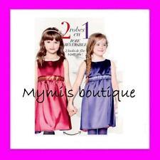Robe de soirée réversible pour petites filles AVON - disponible du 2 au 7 ans