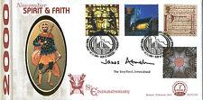 7 NOV 2000 SPIRIT AND FAITH BENHAM BLCS 194b FDC SIGNED DEAN OF St EDMUNDSBURY