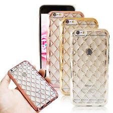 Handy Schutz Hülle für Apple iPhone Hart Cover Case Tasche Bling Slim Folie