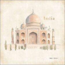 Marco Fabiano: World Trekker IV Keilrahmen-Bild Leinwand Taj Mahal Indien