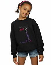 Disney Girls Maleficent Christmas Naughty List Sweatshirt