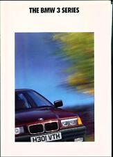 BMW 3 SERIES E36  Brochure 1991