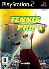 International TENNIS PRO (SONY PLAYSTATION 2, 2007, DVD-BOX)