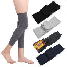 Unisex Mens Women Cashmere Wool Warmers Leg Thigh High Socks Knee Pad