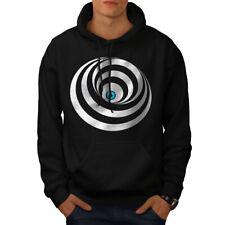 Wellcoda New Mens Hoodie, Vision Casual Hooded Sweatshirt