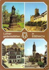 AK, Eisenach, Luthergedenkstätten in Eisenach, vier Abb., 1987