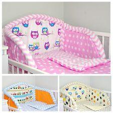 BABY'S COMFORT DREAMS cot/cotbed BUMPER - 14 DESIGNS