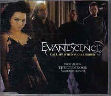 Evanescence-Call me When Youre Sober Promo cd single
