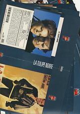 lot 14 documents- jaquettes de film - videos K7 - bon etat ALAIN DELON