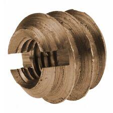 DIN 7965 Einschraubmuttern Messing Einschraubmuffen Holzverbinder Gewindemuffe