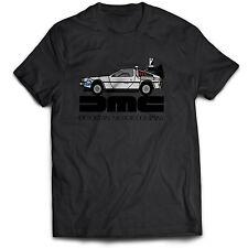 Back to the Future De Lorean DMC Movie Film 80s 90s Classic T Shirt