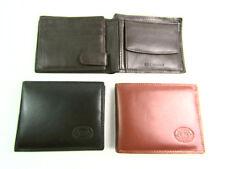 Homme Design Premium super doux Cuir Portefeuille Porte-Cartes Porte-monnaie