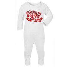 ORIGINAL B-BOY Graffiti - Baby Sleepsuit Romper - RAP HIP HOP OLD SKOOL