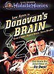 Donovan's Brain (DVD, 2001) Lew Ayres Evans Davis Brodie. New. Sealed. Oop