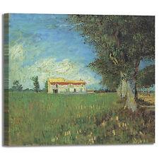 Van Gogh fattoria design quadro stampa tela dipinto telaio arredo casa