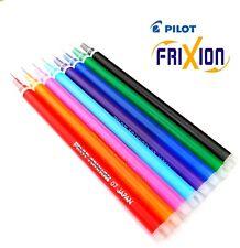 Pilot FriXion Erasable Pen Refills Replacement Ink Cartridge Medium 0.7mm Colour
