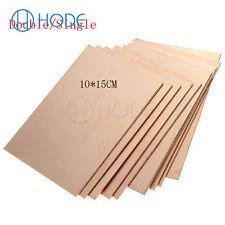 1/5/10PCS 10*15CM FR4 Double/Single PCB Copper Clad Laminate BoardUK