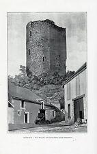 36 ISSOUDUN TOUR BLANCHE COTE DE LA RIVIERE IMAGE 1901