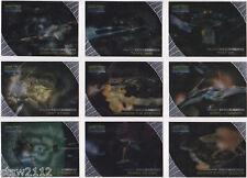 STAR TREK DEEP SPACE NINE MEMORIES FROM THE FUTURE GREAT SPACE BATTLES SET SB1-9