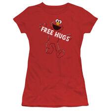 """Sesame Street """"Free Hugs"""" Women's Adult or Girl's Junior Tee or Tank"""
