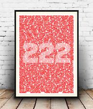 Arsene Wenger, Arsenal, 222 Players, Football, Poster, Wall Art, All Sizes
