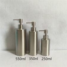 304 Stainless Steel Soap Dispenser Hand Sanitizer Bottle for Bathroom Kitchen