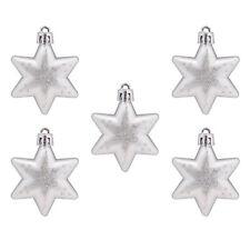 Christmas Sparkle Stars Decorative Baubles Tree Ornaments
